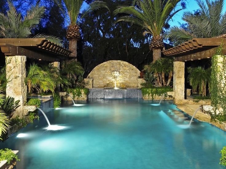 Exceptional Resort Style Pool Paradise Valley Arizona