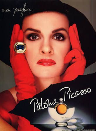 Paloma Picasso. I used to want to be her when I was in high school.