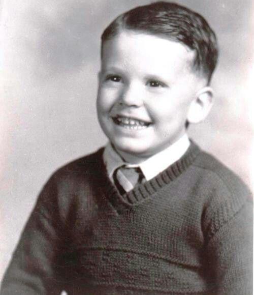 James Garner a los 3 años