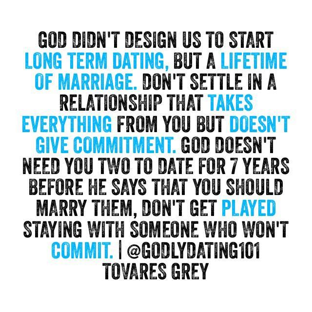 What does god say about online dating