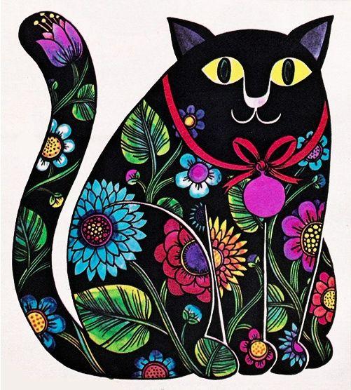 Flower gato!