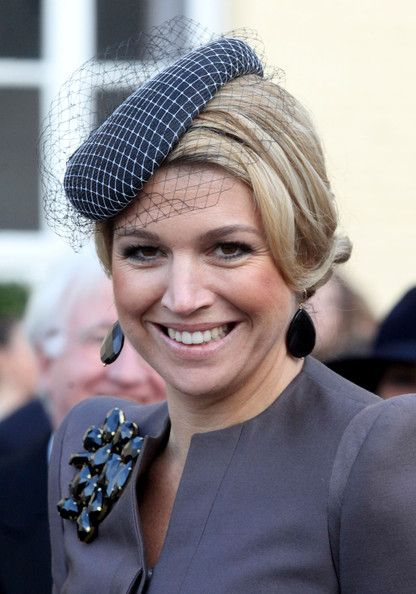 Maxima at the Royal Wedding of Prince Carlos de Bourbon de Parme and Princes Annemarie