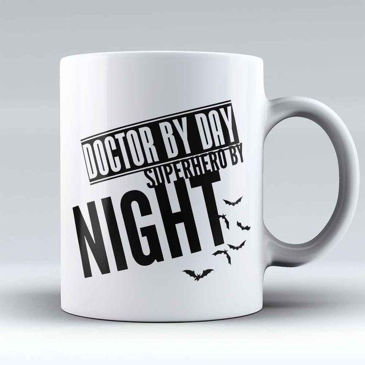 """Limited Edition - """"Superhero Doctor"""" 11oz Mug"""