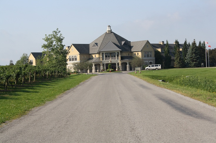 One of my favorite places! Peller Estates in Niagara on the Lake