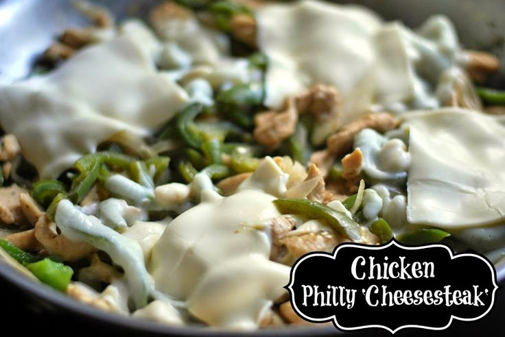 Chicken 'Philly Cheesesteak' - Aunt Bee's Recipes