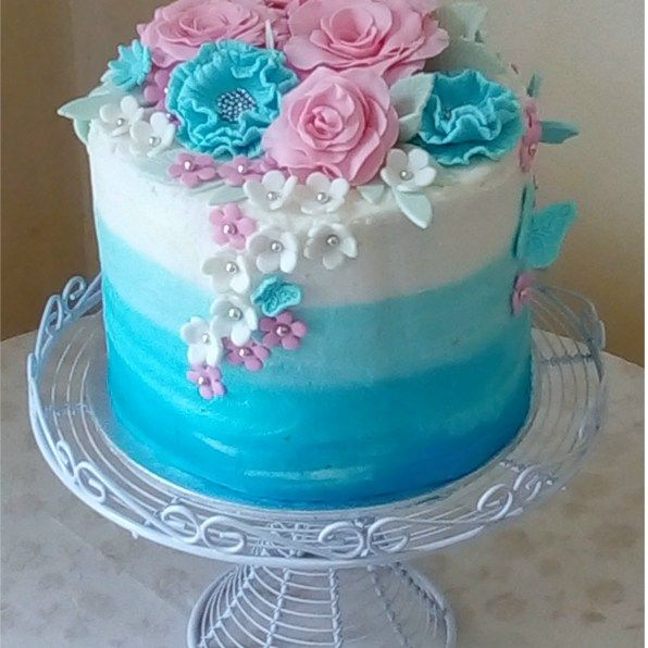 Gallery With Images Pink Birthday Cakes Blue Birthday Cakes