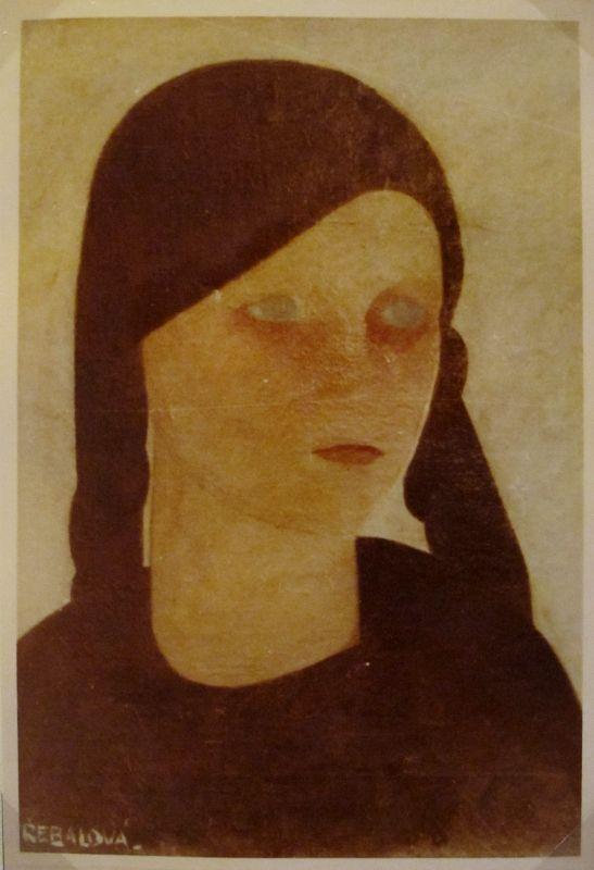 © Vlasta Vostřebalová Fischerová - Helča (1922), dnes nezvěstné dílo