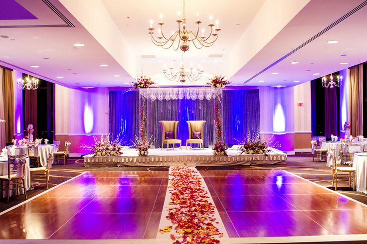 Indian wedding decor. Mandap decorations.