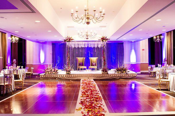 Indian wedding decor. Mandap decorations.