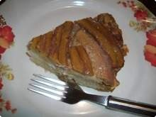Torta Cremosa de Banana.