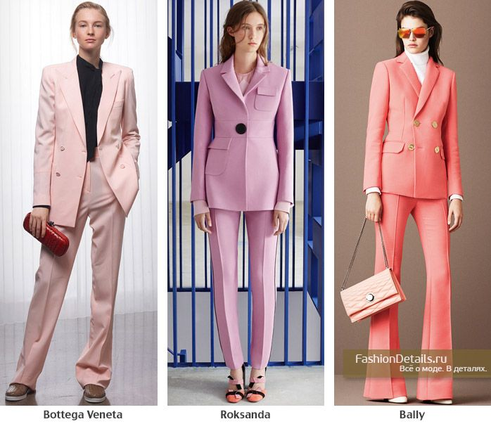 TREND SS 2016: Pink suit