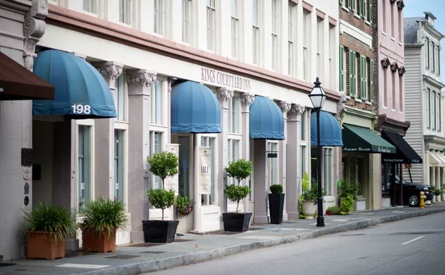 Best Hotel & Inn Downtown Charleston SC | King Courtyard Inn
