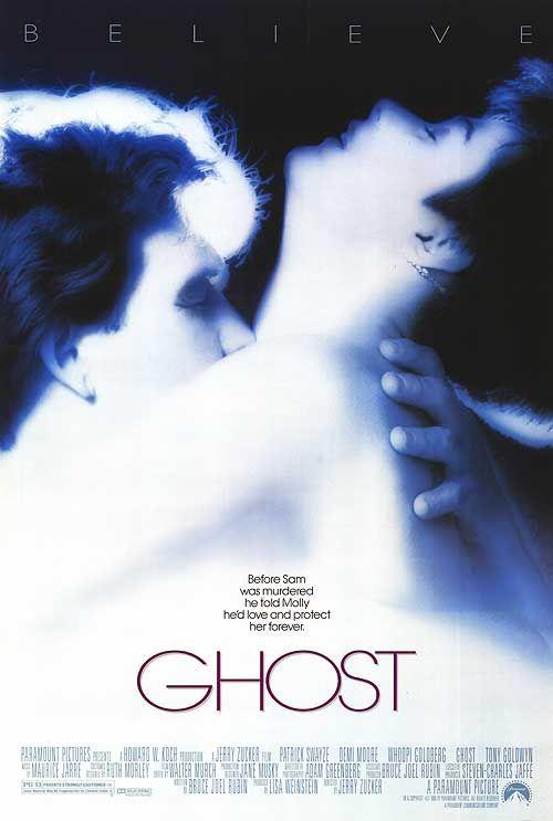 Ghost (1990) a film by Jerry Zucker + MOVIES + Patrick Swayze + Demi Moore + Whoopi Goldberg + Tony Goldwyn + Stanley Lawrence + cinema + Drama + Fantasy + Mystery