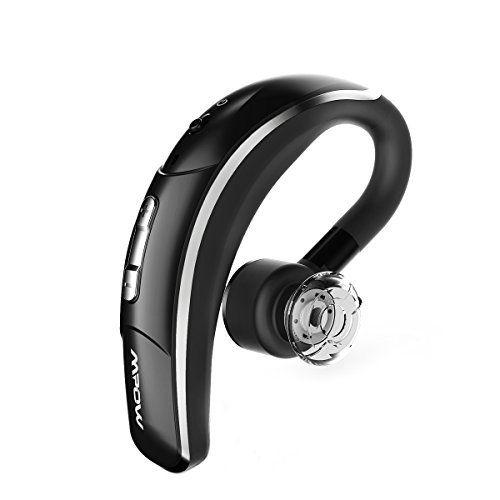 cool Mpow Auricular Bluetooth  auriculares inalámbricos auricular Bluetooth manos libres con voz clara captura tecnología Bluetooth auriculares para iPhone Samsung Huawei HTC, etc. (Bluetooth 4,1, 280horas en espera, negro)