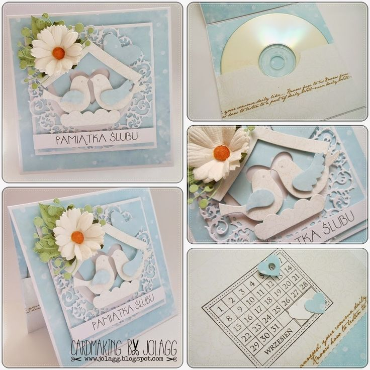Folderki ślubne na płytę CD/DVD