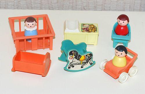 Малыши мебель (Константиновская фабрика игрушек). Советские игрушки - http://samoe-vazhnoe.blogspot.ru/ #фигурки_малыши