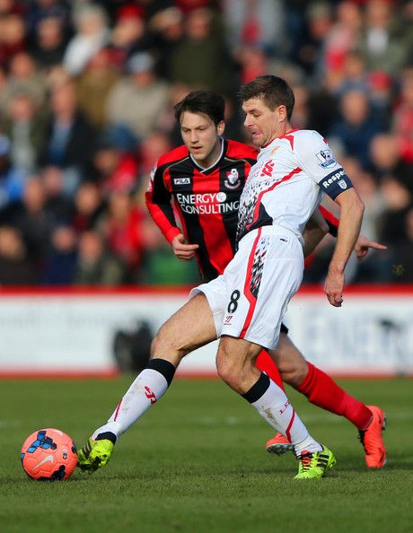 Steven Gerrard - Bournemouth v Liverpool - FA Cup Fourth Round