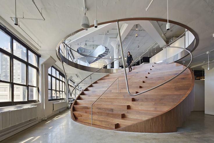 PHOTOS. Architecture: Les gagnants du prix ArchDaily 2015 - Wieden+Kennedy NY / WORKac (États-Unis)