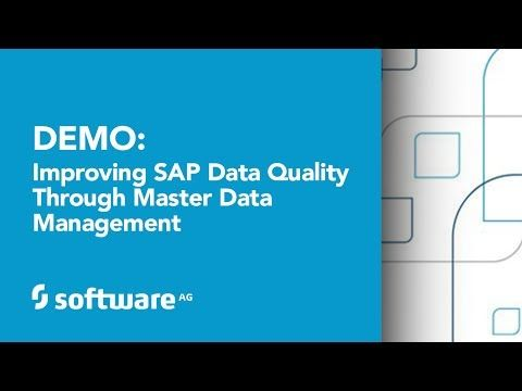Demo: Improving SAP Data Quality through Master Data Management (MDM)  #Mastering Data #SAP Challenges