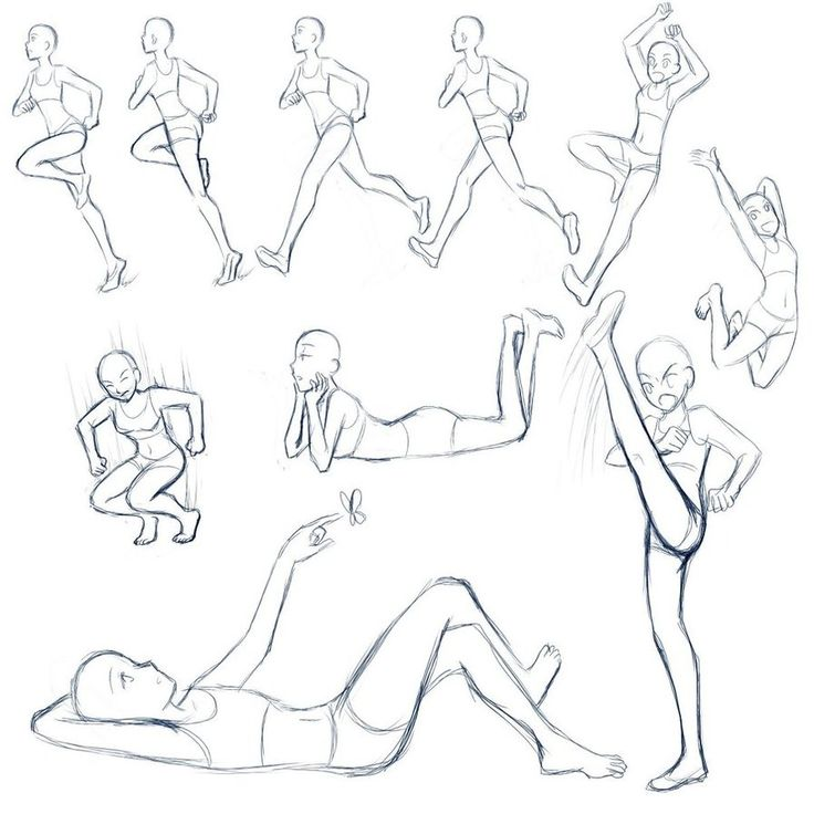 OKAY- Just whipped this up quickly and drew the poses at school but I hope it helps. My experience with poses: last time I did anything with explaining poses was this: lol 2 years ago : ) Here are ...