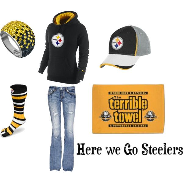"""""""Steelers Outfit"""" by jenniferd82 on Polyvore"""