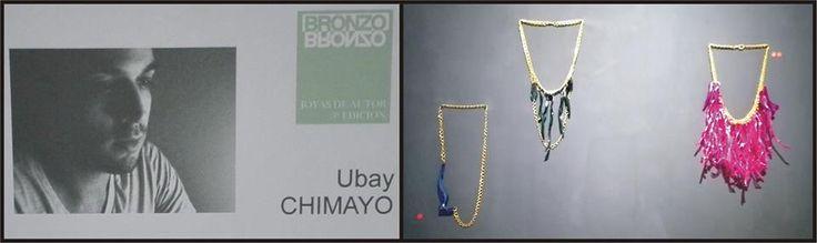 Ziday, Tara y Chaxiraxi. Plástico y cadena.