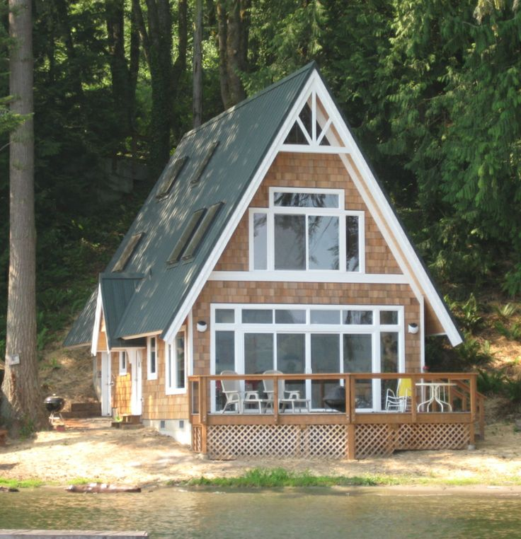 A-Frame Addition - Terpsma Construction | Bellingham, WA-- Shingle style front