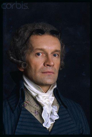 """Andrzej Seweryn dans le rôle de Maximilien Robespierre dans """"Les Années terribles"""" (1989)"""