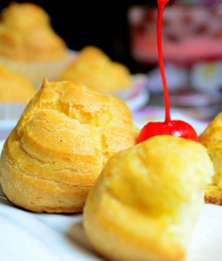 Resep dan Cara Membuat Kue Sus dengan Vla Susu