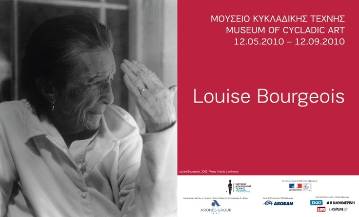 """""""Louise Bourgeois"""" exhibition poster"""