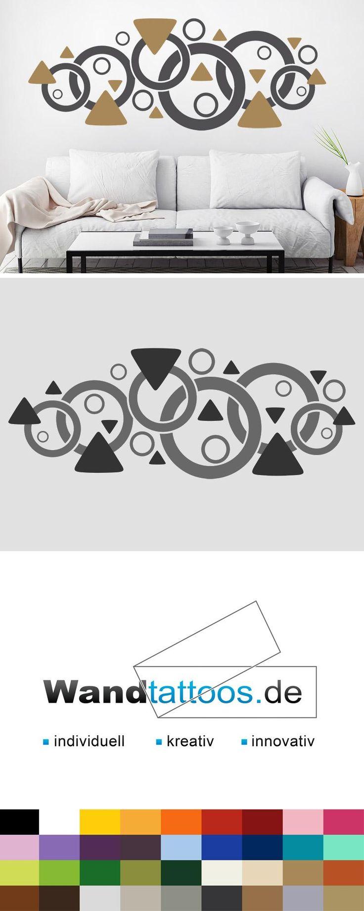 Die besten 17 ideen zu dreiecke auf pinterest - Wandtattoo dreiecke ...