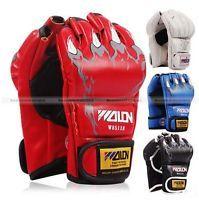 Grappling MMA Sanda Gloves UFC Boxing Fight Gloves Striking Training