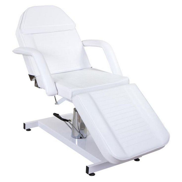 """Hestia"" White Hydraulic Salon Spa Facial Bed & Tattoo Table This handsome upscale facial bed has thick foam foot, seat and back rest cushions covered with  Read more http://cosmeticcastle.net/hestia-white-hydraulic-salon-spa-facial-bed-tattoo-table/  Visit http://cosmeticcastle.net to read cosmetic reviews"