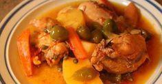 Fabulosa receta para Estofado de Pollo.. Una receta a mi estilo. Un sabor muy delicioso y hogareño. Animense a probarlo.