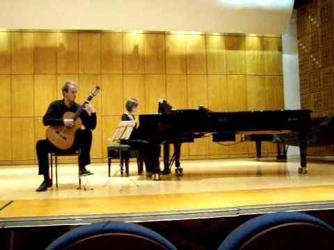 Leo Brouwer - Tres Danzas Concertantes: I. Allegro - YouTube