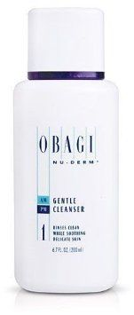 Obagi Nu-derm Gentle Cleanser, 6.7oz / 200ml. New & Sealed Treatment Beauty Product