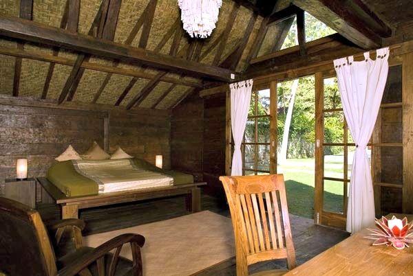 bedroom of Villa Adagian in Bali #villa #relax #sleepthedayoff #noworries #luxuryvilla #bali traditional villa bali