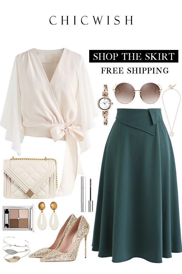 Keep on Loving You A-Line Midi Skirt 15