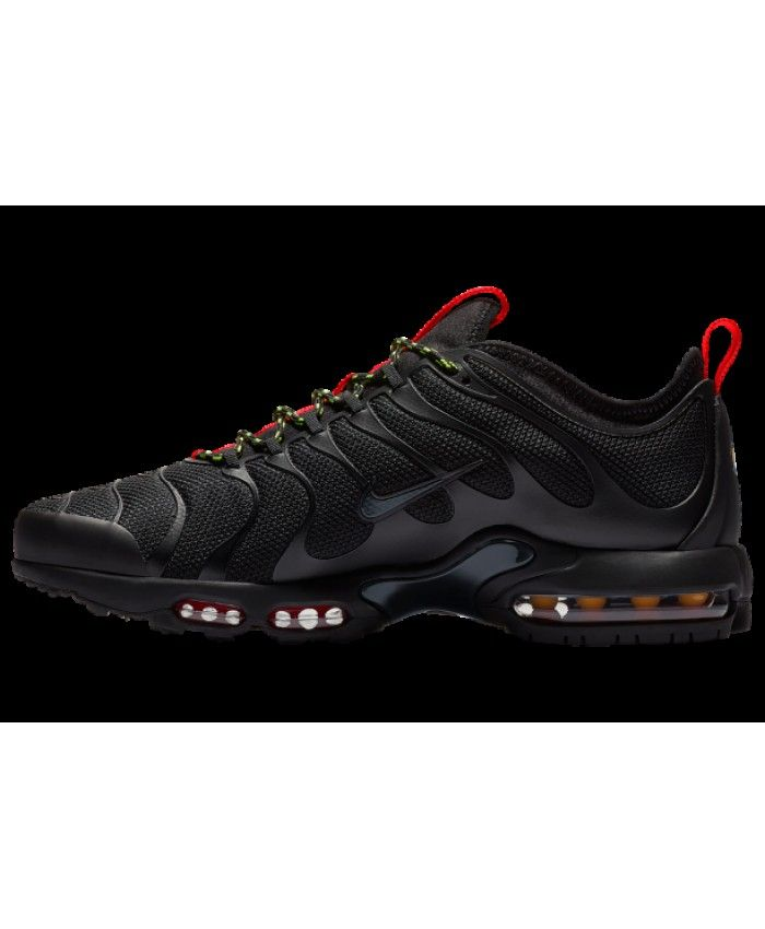 adfe8cab6608 Nike Air Max Plus Tn Ultra Black Anthracite Red Volt