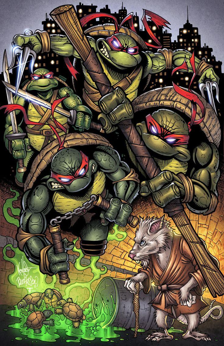 Ninja Turtle Nails: 77 Best Images About Teenage Mutant Ninja Turtles On