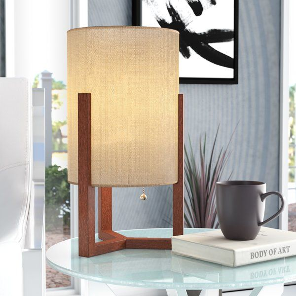 10+ Amazing Wood Table Lamps Living Room