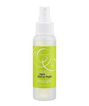 DevaCurl Mist-er Right: Girls with curls can spray on this combination of dry shampoo and scalp rejuvenator to revive their spirals and ringlets.