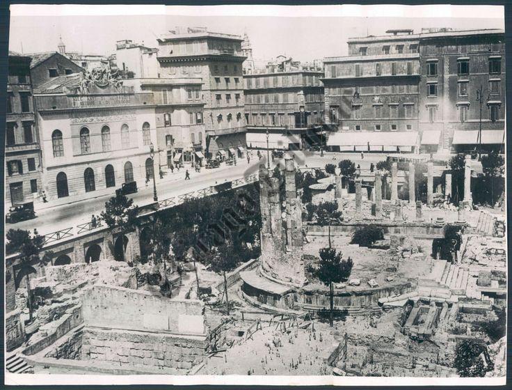 Rome Italy Ruins 1932