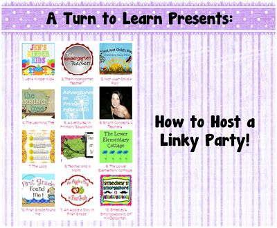 A Turn to Learn: How to Host a Linky Party!