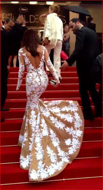 Najwa Karam Zuhair Murad dress