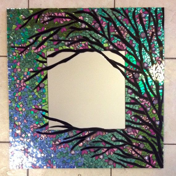 Hey, I found this really awesome Etsy listing at https://www.etsy.com/listing/167056891/mosaic-mirror-large-handmade-stained