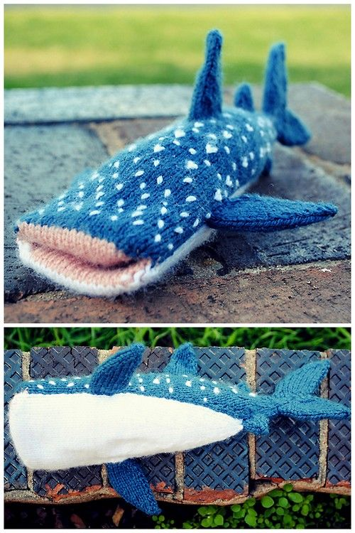 17 Best images about Shark Week Knitting on Pinterest ...