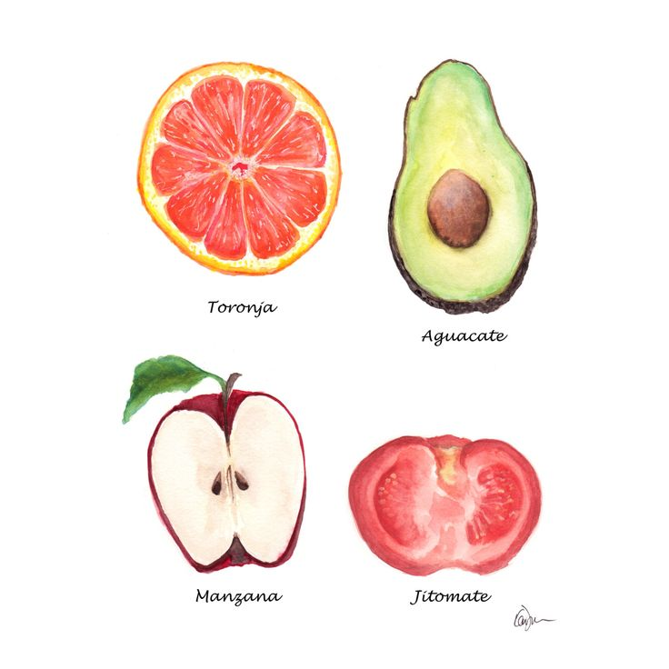 Food Art Drawing And Painting