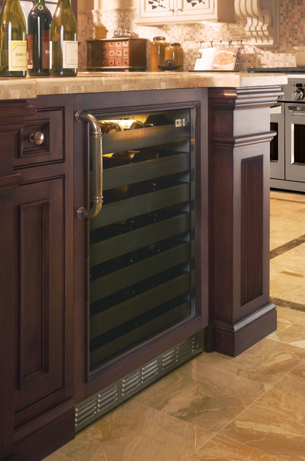 Wine cooler building dream kitchen pinterest - Kitchens with wine coolers ...
