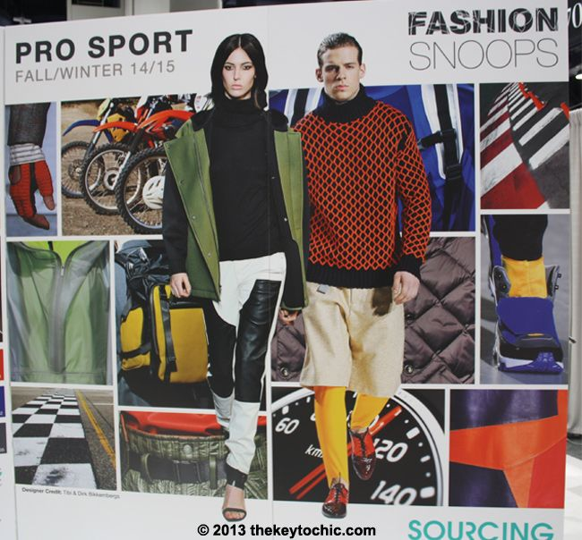 The Key to Chic Fall Winter 2014 2015 Fashion Trend Forecast > Pro Sport is a continuation of activewear and athletic references powered by technical fabric advances, an active lifestyle movement, and mo...